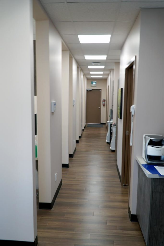8th Street Dental Airdrie Hallway