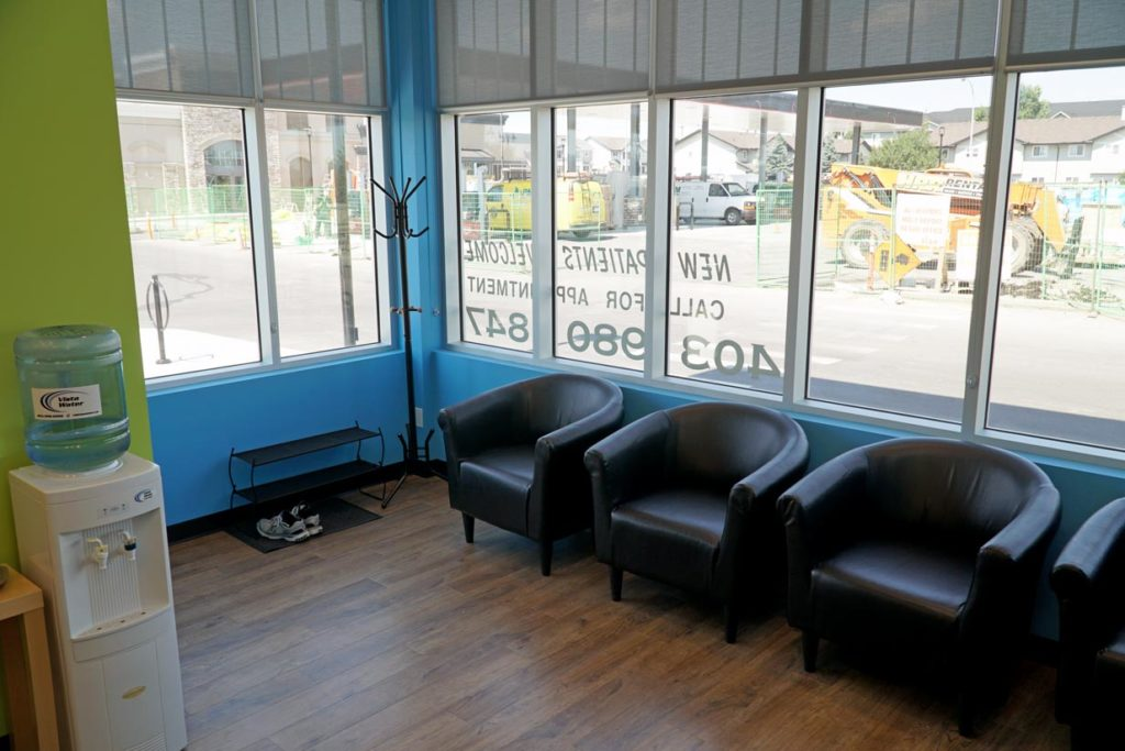 8th Street Dental Airdrie Waiting Area